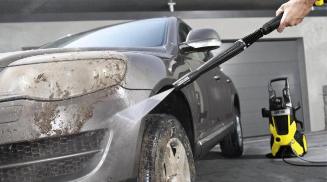 Забывание помыть покрышки авто