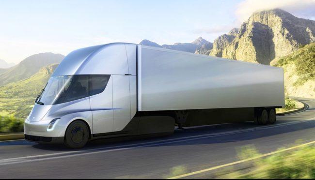 Все что нужно знать об грузовике Tesla Semi